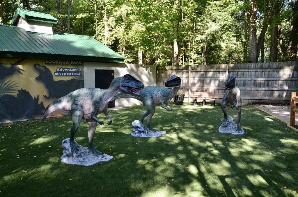 Zoorassic Park Binder Park Zoo Allosaurus Trio