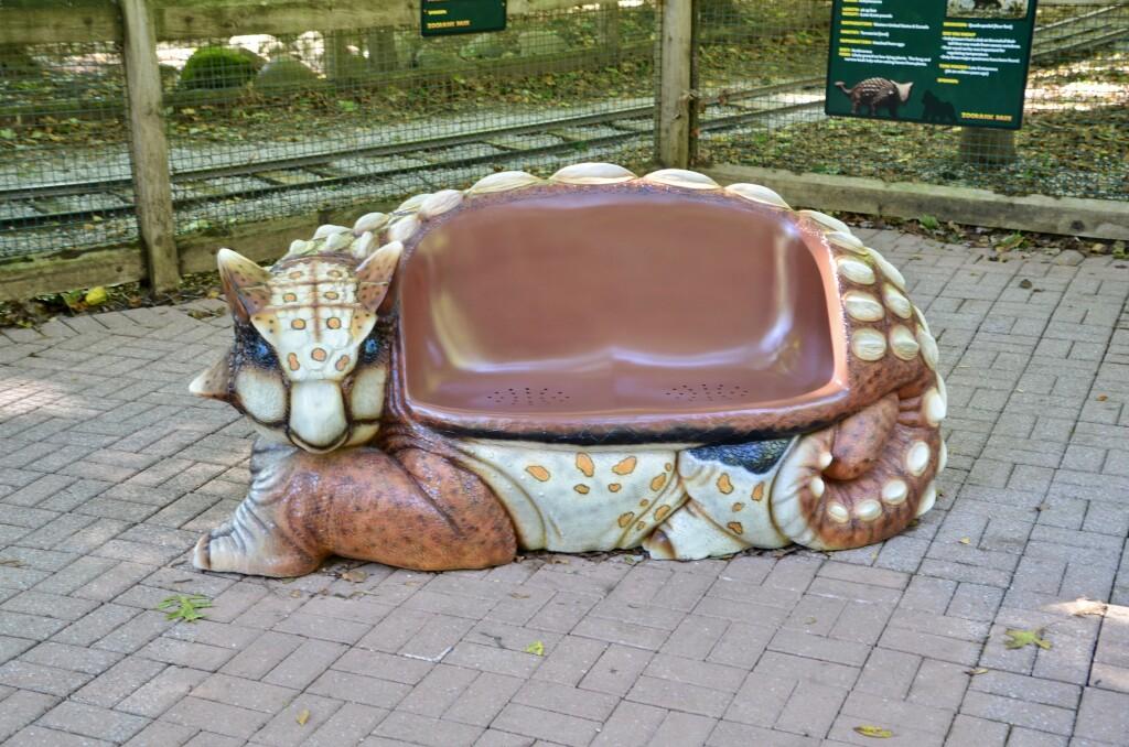 Zoorassic Park Binder Park Zoo Ankylosaurus Bench