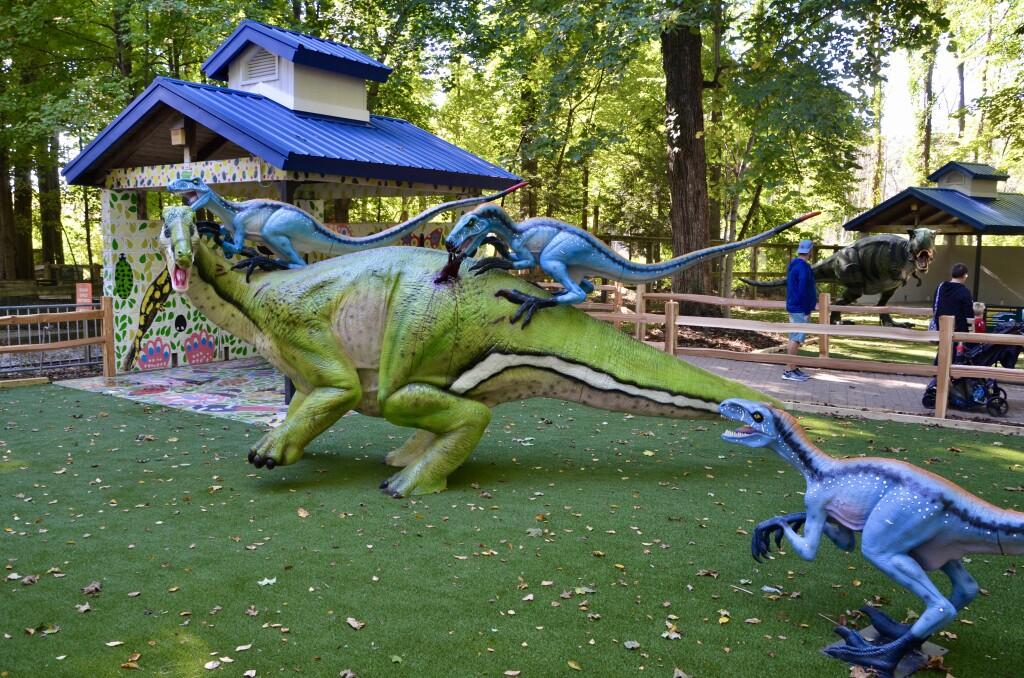 Zoorassic Park Binder Park Zoo Dinosaur Attack
