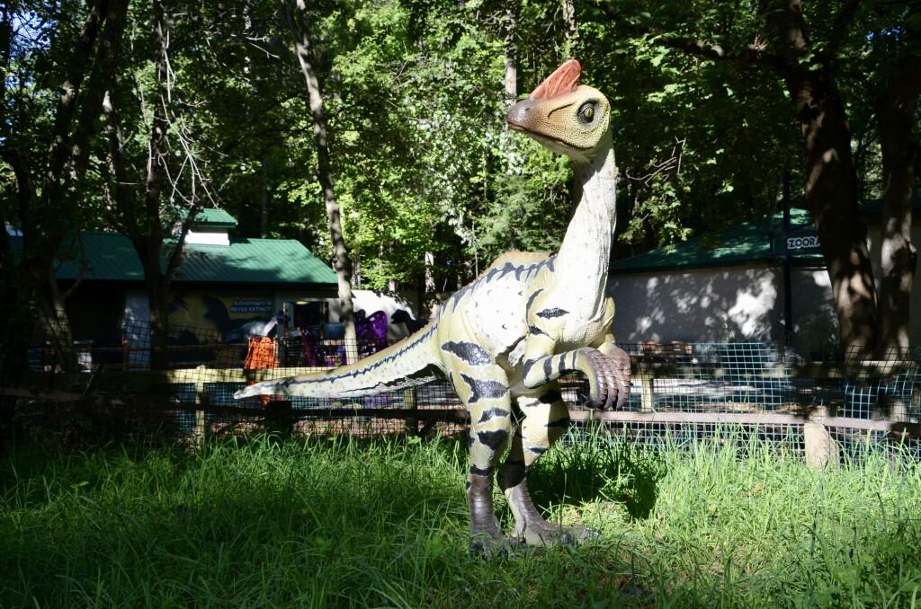 Zoorassic Park Binder Park Zoo Dinosaur Statue
