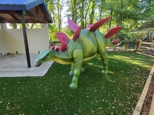 Zoorassic Park Stegosaurus Binder Park Zoo